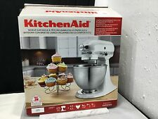 New KitchenAid 4.5 Quart Tilt-Head Stand Mixer  White  ( Model K45SSWH )