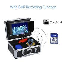 "EYOYO 8GB 7"" LCD Infrared LED Underwater Fish finder Camera Recorder 1000TVL HD"