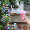 Kids Children Summer Electric Automatic Blowing Bubbles Machine Outdoor Toys New