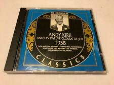 Chronological Classics ANDY KIRK and his 12 Clouds of Joy 1938 CD JAZZ