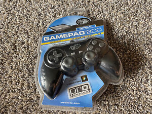 NEW Mad Catz GamePad 200 For Sony PlayStation 2 PS2 Official Controller SEALED