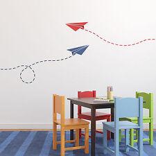 Piano di carta craftstar muro Stencil-Riutilizzabile Laser Cut MYLAR Aeroplano Stencil
