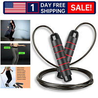 4 Packs Jump Ropes - Speed Skipping Rope Tangle Free Jumping Workout Fitness
