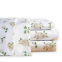 Magnolia Blossom Floral Microfiber Bed Sheet Set, by Collections Etc