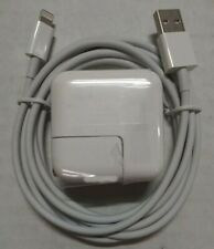 New 12W USB Wall Adapter Charger & 8ft 8-Pin Cord Apple iPad 2 3 4 Air 1 2 *B2*