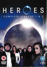 Heroes - Series 1-2 - Complete (DVD, 2008, 11-Disc Set, Box set) Brand New