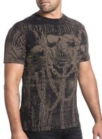XTREME COUTURE by AFFLICTION Men T-Shirt STRESS FRACTURE Tattoo Biker Gym $40