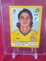 Zlatan Ibrahimovic Sweden Euro 2012 Panini Swiss Sticker