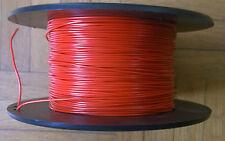 2 x 2 METRES FIL A CABLER SOUPLE ROUGE/NOIR 0,22mm² 250V AWG24 (FIL DE CABLAGE)