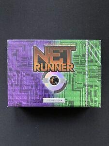 Netrunner CCG Base Set Limited v1.0 Two-Player Starter Deck Sealed