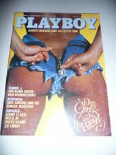 Playboy Magazin 1982/10, Manuela Nehls vom Oktober 1982