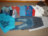 Bundle Boys Clothes age 4-5yrs Jeans Hoodies Trousers Tops  Next Boden Spiderman