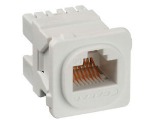 NEW CABAC Cat 5e JACK RJ45 10PACK CAT5E Clipsal-Compatible K/110 8P8C 568A 568B