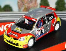 Ninco 50337 Renault Clio Super 1600 Rally Slot Car 1/32