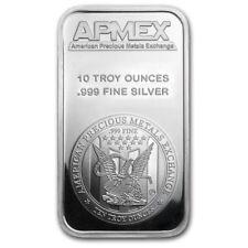 10 Ounce oz .999 Silver Bar - APMEX