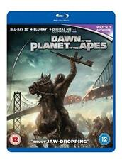 Dawn of the Planet of the Apes [Blu-ray 3D + Blu-ray], Very Good DVD, Jason Clar