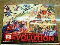 G.I. Joe Transformers Revolution Poster IDW Comics Action Man Rom Micronauts