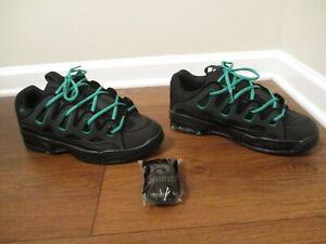 BNIB Size 12 Osiris D3 2001 Shoes Black & Green