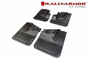 Rally Armor OE Black Mud Flap w/ Black Logo For 08-14 STi/11-14 WRX (Hatchback)