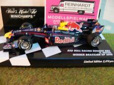 1/43 Minichamps Renault RB6 Red Bull Racing S. Vettel Winner Brazilian GP 2010 .