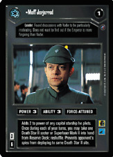 Moff Jerjerrod [slight wear] DEATH STAR II star wars ccg swccg