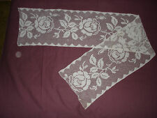 #534 Beautiful Vintage Filet Lace   170cm/31(67''/12'')