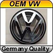 OEM Volkswagen Front Emblem Badge VW Chrome Polo Golf Jetta Passat Corrado