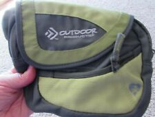 """OUTDOOR PRODUCTS 8""""x10"""" camping/hiking fanny pack/ backpack w/adjustable strap"""