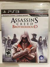 Assassin's Creed: Brotherhood (Sony PlayStation 3, 2010) PS3 Complete CIB