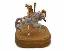 Willitts Designs Double Horse Carousel Music Box - Group Ii 1-169