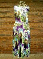 Hearts & Roses Womens Size 12 Multicoloured Dress Peacock Leopard Rockabilly 50s