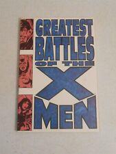 Greatest Battles of the X-Men TPB (Marvel 1994, 1st Print) Neal Adams & Byrne!