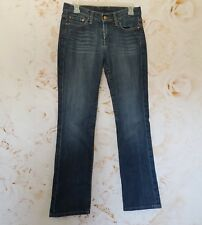 Lucky Brand Womens Classic Rider Jeans Boot Cut Blue Denim Size 6/28