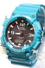 AQ-S810WC-3A Blue Casio Men's Watch Tough Solar 5 Alarms Analog Digital Resin