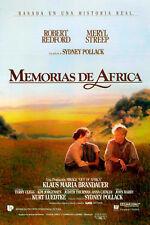 MEMORIAS DE AFRICA. dvd