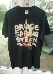 Medium Mens Bruce Springsteen Wrecking Ball 2012 World Tour T-Shirt