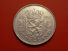 Netherlands 2-1/2 Gulden, 1969