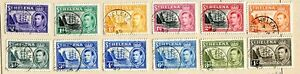FALKLAND + St. HELENA + Br. GUYANA : Small collection starting with classics
