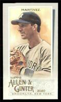 2020 Topps Allen and Ginter A&G Back Mini #202 Tino Martinez - New York Yankees