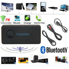 Wireless Bluetooth v3.0 A2DP 3.5mm Stereo Music Audio Transmitter Sender Adapter