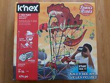 K 'nex T-Rex Fury Rollercoaster Conjunto de Construcción