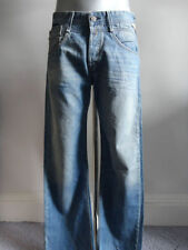 Stonewashed Regular Length 32L Replay Jeans for Men
