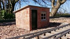 g scale sm32 garden railway lineside hut kit made from resin 1/22.5 scale