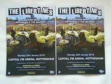 THE LIBERTINES Live Anthems for doomed Youth 2016 UK Arena Tour Promo flyers x 2