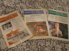 Vintage Mid-Century Collectible KODAK MOVIE NEWS booklets, July, Sept, Nov 1953
