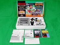 Super Mario All-Stars SNES Super Nintendo Console Green Boxed + Sleeve Bundle