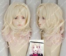 DIABOLIK FREUNDE / Komori Yui Yui Blonde langsam ändern Cosplay Perücken
