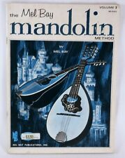 Mel Bay Mandolin Method Volume 2 1969 Printed in Usa Learn To Play Study Book