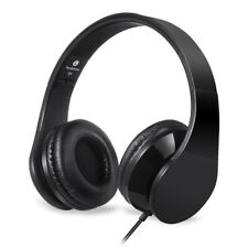 Headphones For Computer Mobile Phone Stereo wired Headfone Big Earmuff Casque