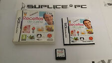 NINTENDO DS - Recettes de cuisine (AVEC NOTICE)